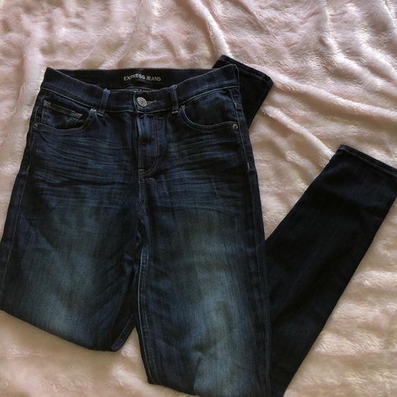 Skinny Blue Jeans